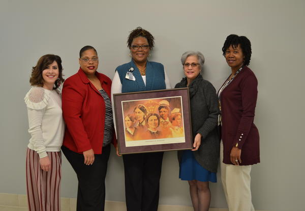 'Pioneers of Nursing' Print Donated to Nursing and Allied Health Division