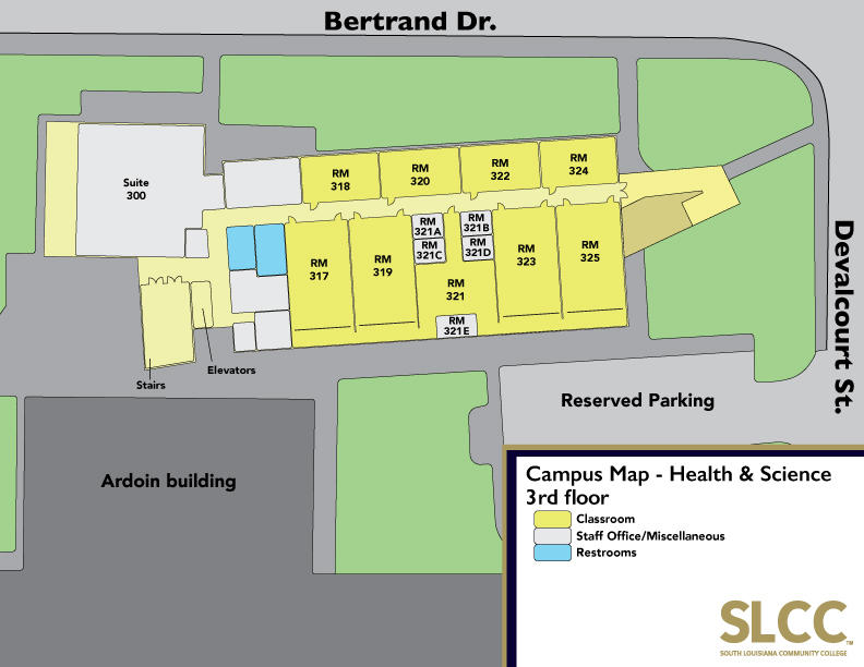 slcc lafayette campus map Campus Maps Campus Security Safety
