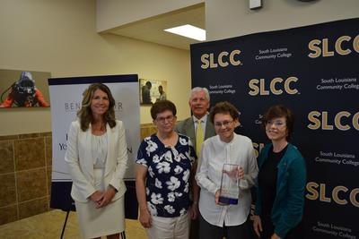 H&B Young Foundation recognized at SLCC Benefactor of the Year