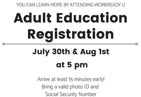 Get Started: Adult Education Registration at Goodwill