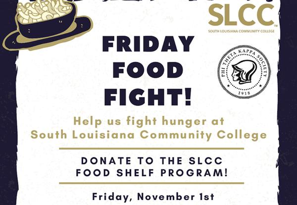 Friday Food Fight Food Drive Set for Nov. 1 on Lafayette Campus