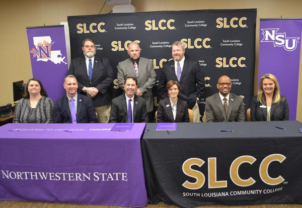 SLCC, NSU Sign Articulation Agreement for Civil Survey and Mapping Program