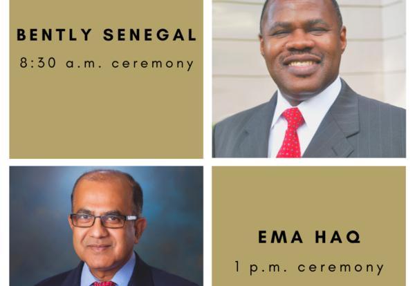 Senegal, Haq to Address SLCC Graduates on Dec. 12