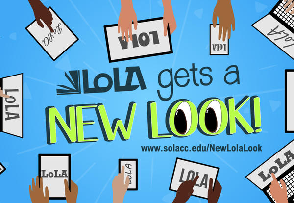 LoLA get a new look graphic