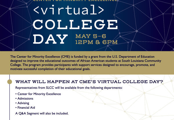 Join us: Virtual College Fair May 5 and 6