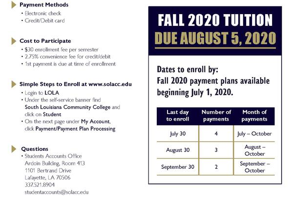 Payment Plans Make Paying Tuition Easier
