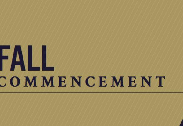 Fall Commencement Program