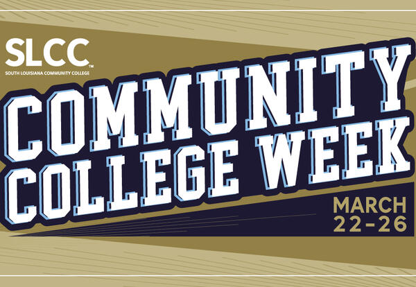 Let's Celebrate: Community College Week March 22-26