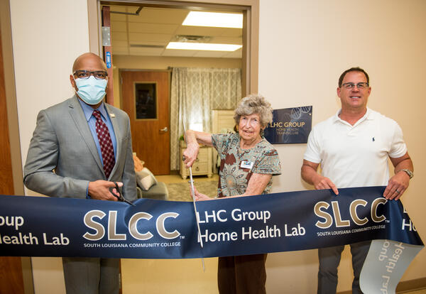 Legacy of Caring Home Health Lab Unveiled in Morgan City