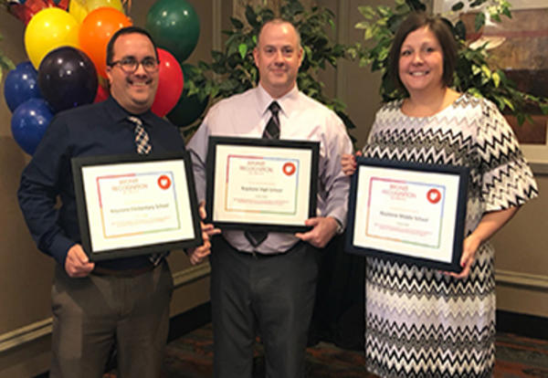 Keystone Educators Accept Award for Positive Behavior Initiative