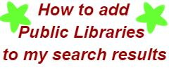 How to add Public Libraries to my search results
