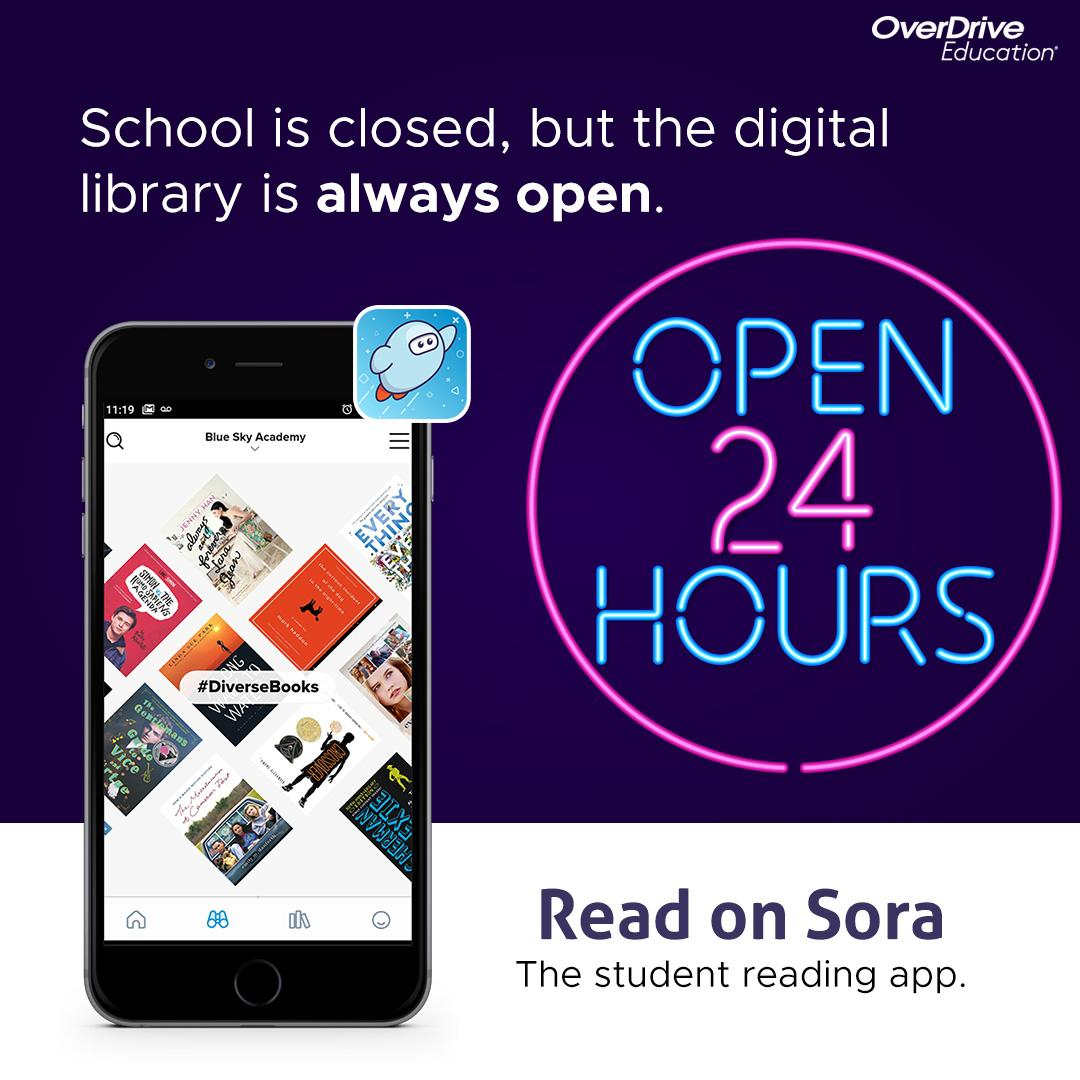School is Closed, but the Digital Library is Always Open