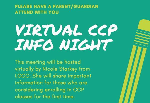 Virtual CCP Info Night