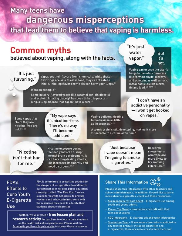 Vaping Infographic for High School Students Page 2