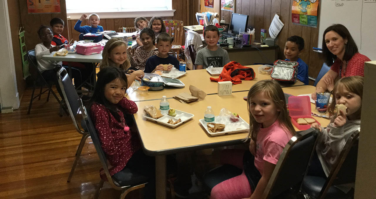 Positive Behavior Club Lunch