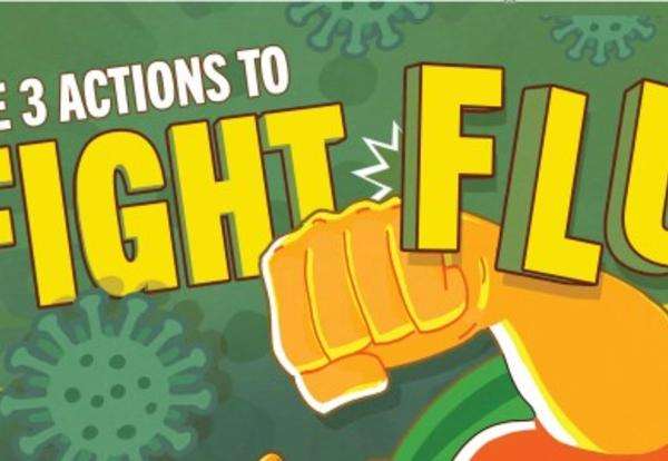 3 Actions to Fight Flu Image