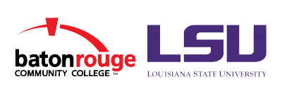 Baton Rouge Community College and LSU images
