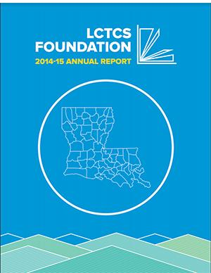 LCTCS Foundation 2014-2015 Annual Report cover
