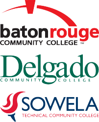 Baton Rouge Community College, Delgado Community College, and Sowela Technical Community College