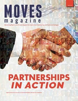 Moves magazine Partnerships In Action Cover