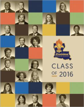 LLA Class of 2016 Yearbook Cover