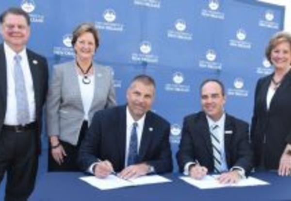Northshore Technical Community College and UNO Sign Engineering Pathway Agreement