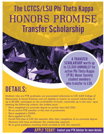 Honors Promise Scholarship