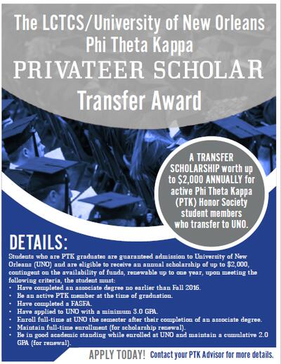 Privateer Scholarship