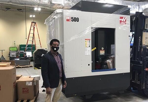 State of Louisiana, Haas announce manufacturing first in nation
