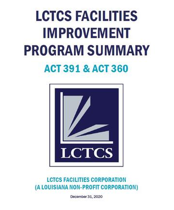 LCTCS Program Update, April 2, 2019