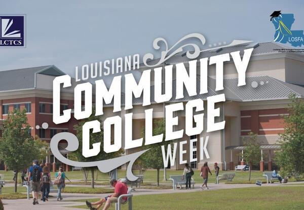 LCTCS Celebrates Community College Week