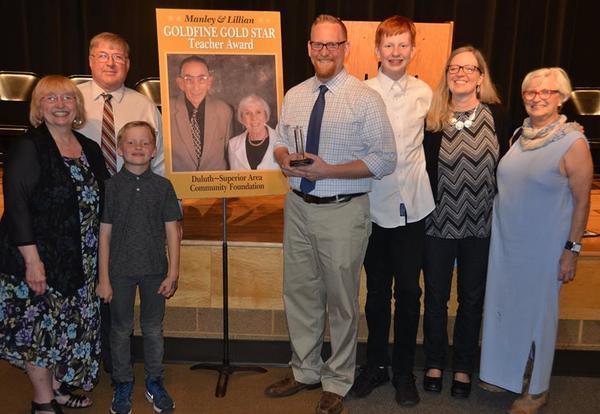 ALC Teacher Receives 2018 Gold Star Award
