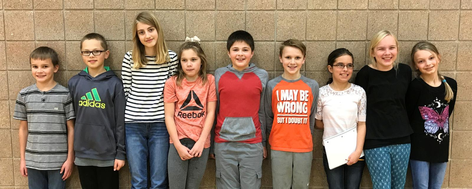 Lakewood spelling bee winners