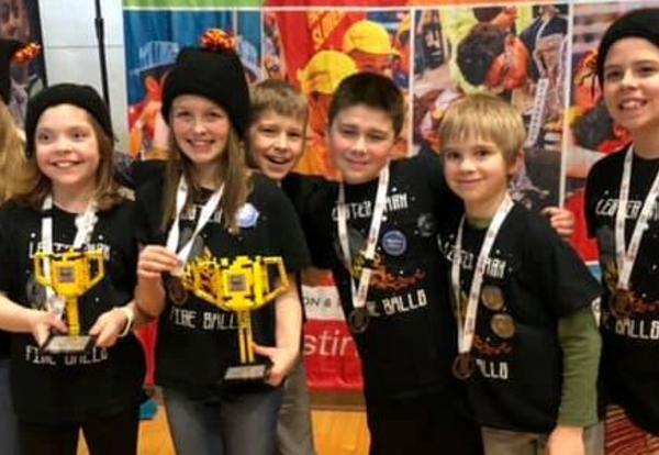 State Lego Robotics Success!