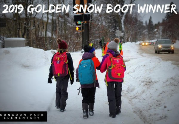 Golden Snow Boot Award