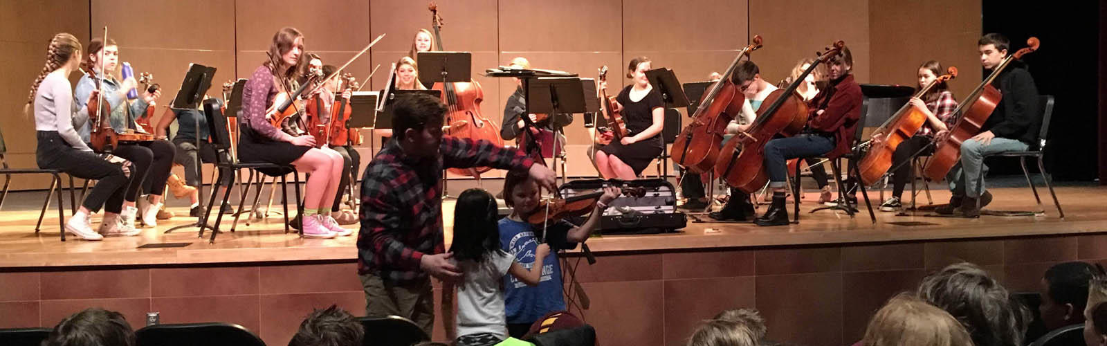 Visiting East HS Orchestra