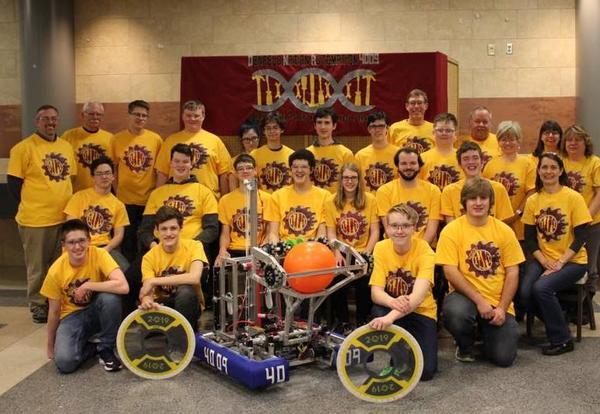 Denfeld Robotics Team Heading to State