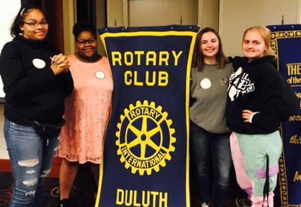ALC Students Make Harbortown Rotary History