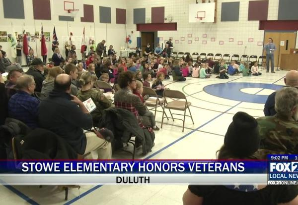 Students Honor Veterans