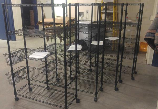 STEM/Makerspace Carts Arrive