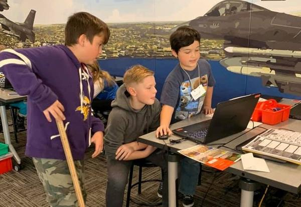 Panthers Explore STARBASE