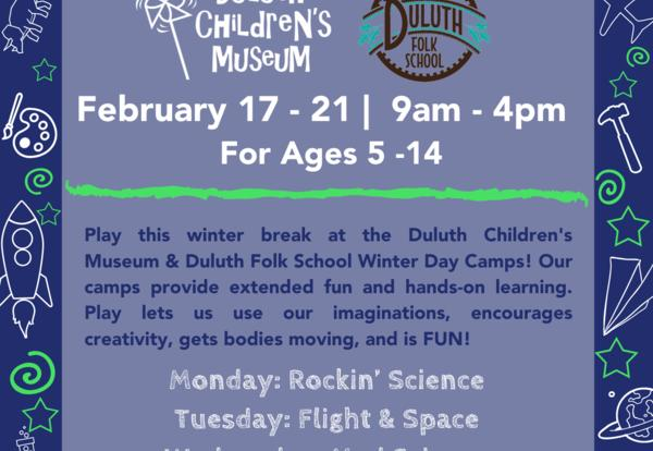 Winter Break Camp at the Children's Museum!