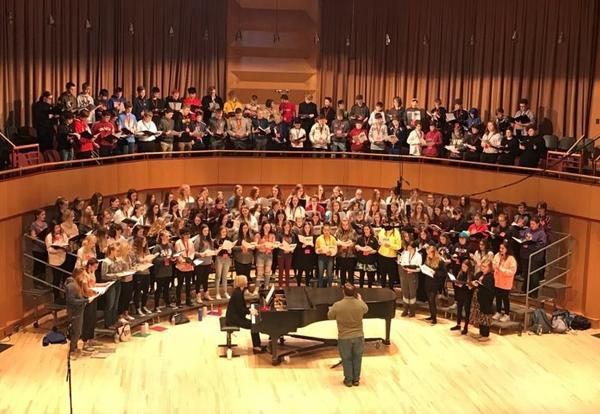 Student Shine in UMD Honor Choir