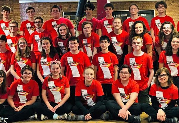 Award for Duluth East Robotics