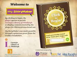 My Story Maker student resource