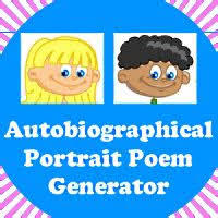 Autobiographical Poem student resource