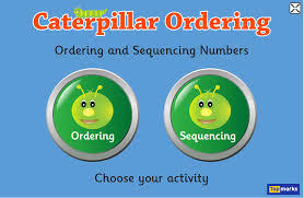 Caterpillar Ordering student resource