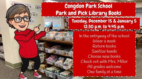Congdon Park School Park and Pick Library Books information