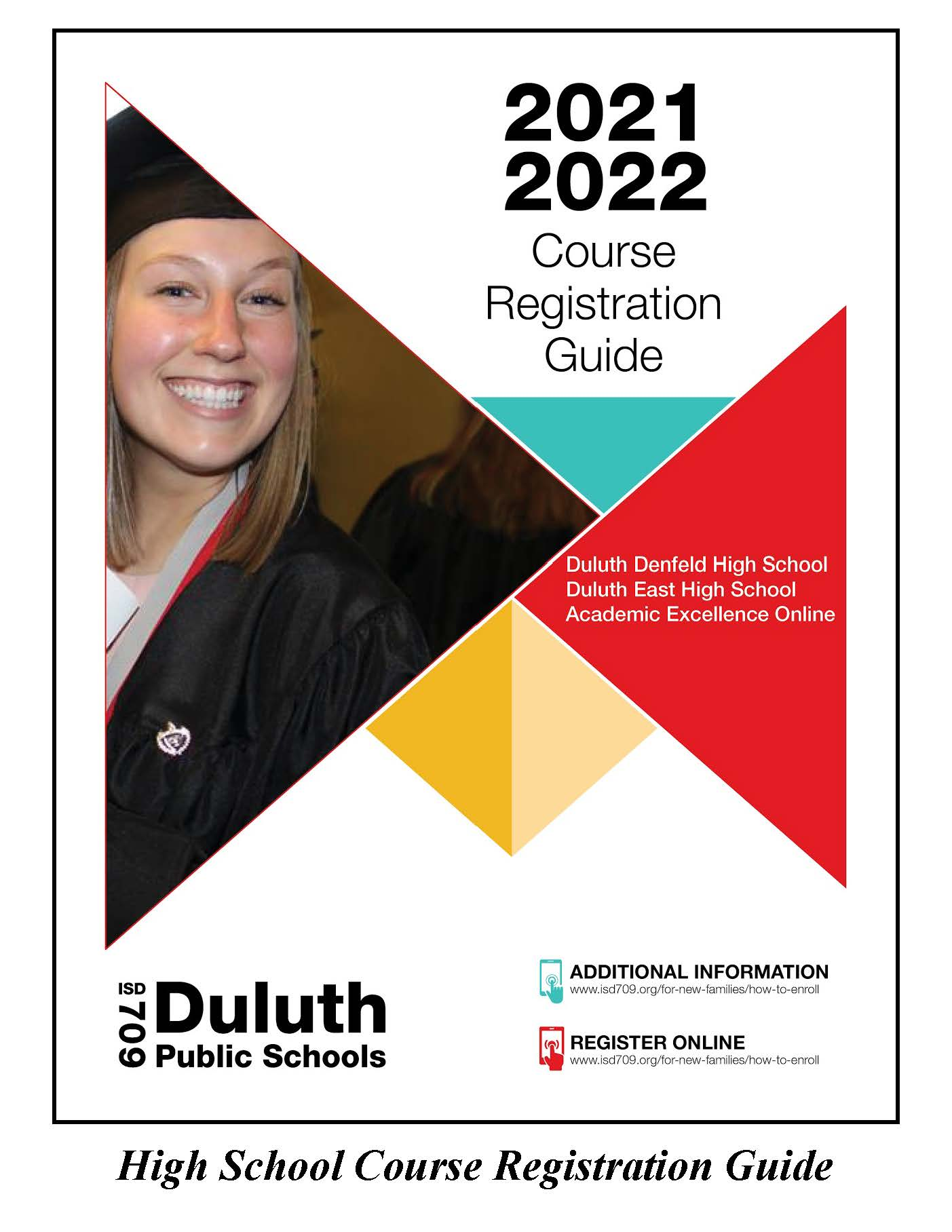 High School Registration Guide Cover