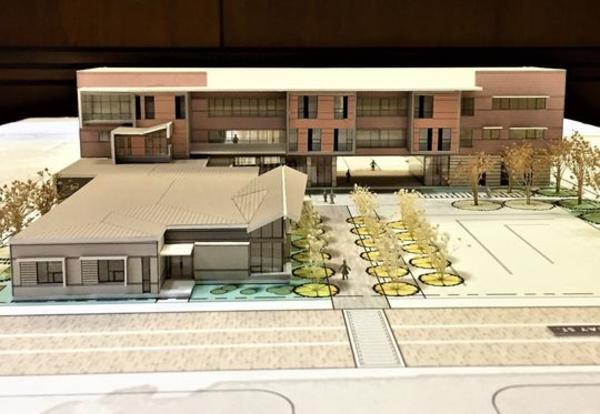 New Alexandria Campus Model